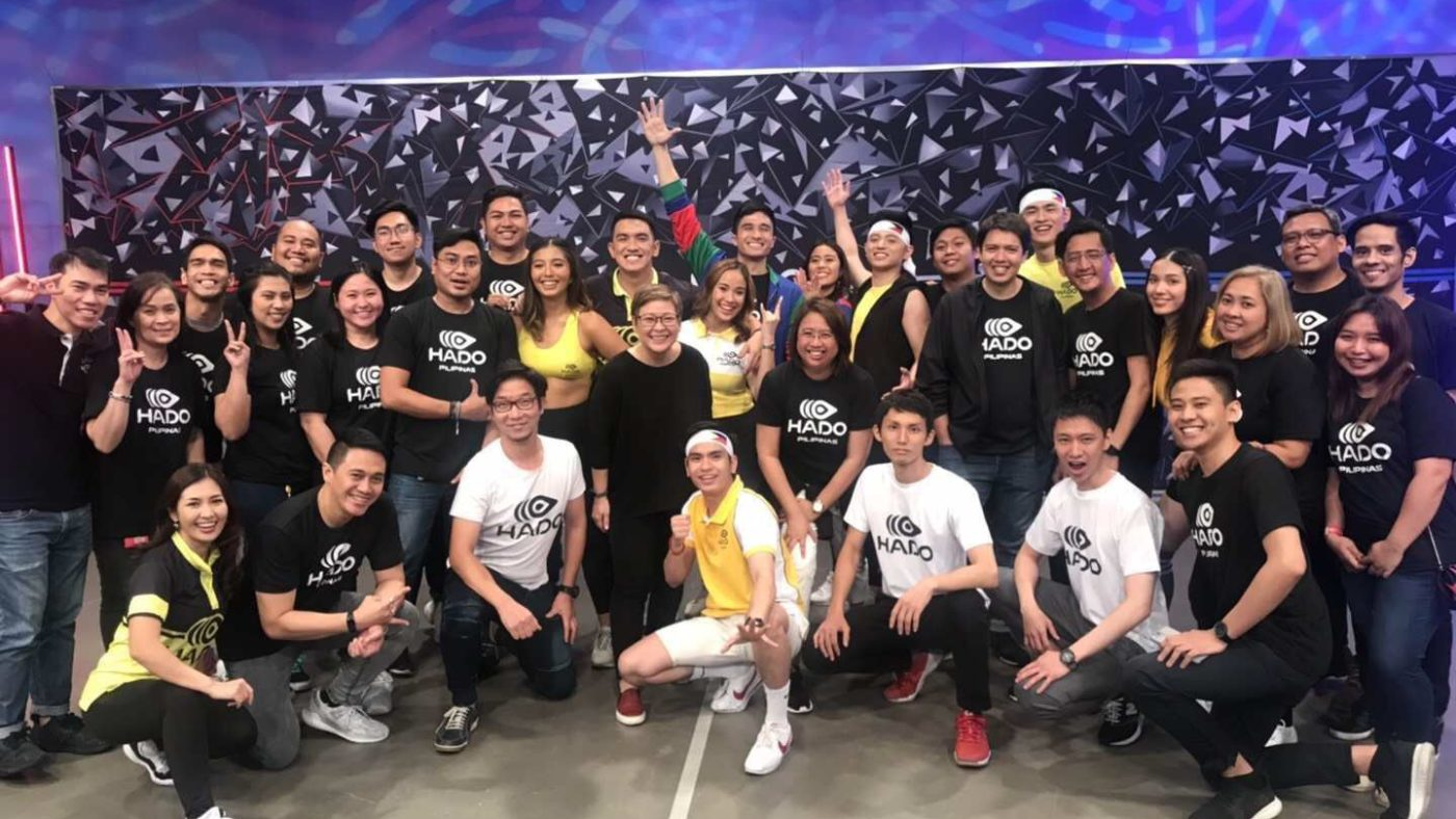 Philippines' largest media company ABS-CBN established exclusive partnership with meleap Inc. to launch new HADO program for broadcasting and OTT streaming