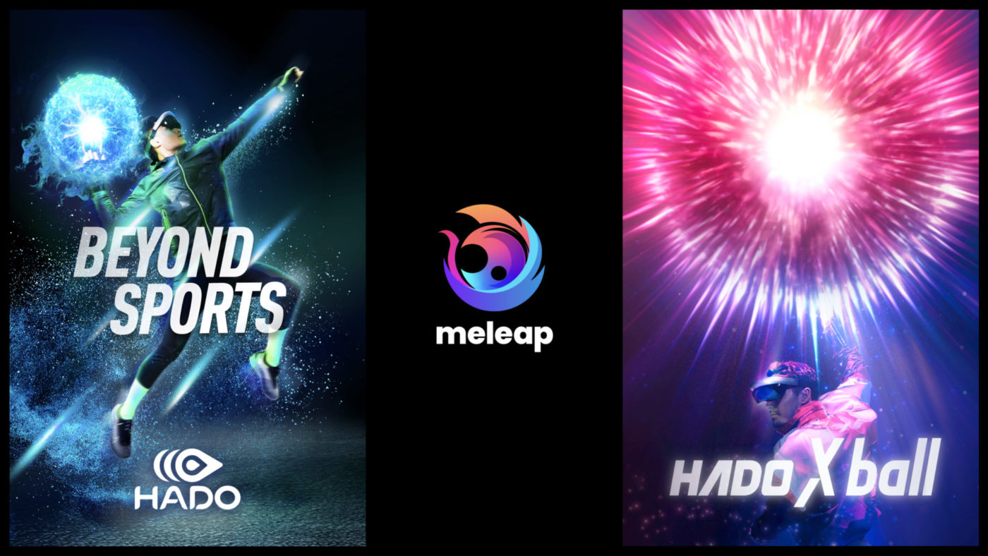 meleap Inc. , known as AR sports HADO founder unveils its new company logo!