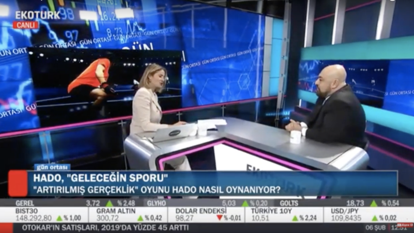 Turkey's economy channel features HADO to talk about the partnership and the future