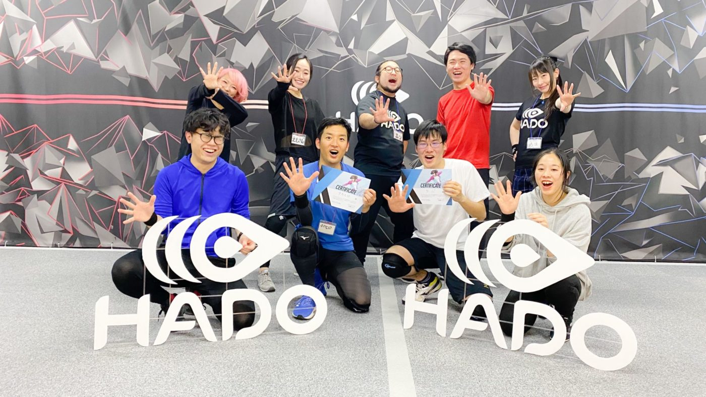 HADO extends its sports school of future to Nagoya! HADO Academy at Wellness Square Shinsakae will be launched on April 1 !