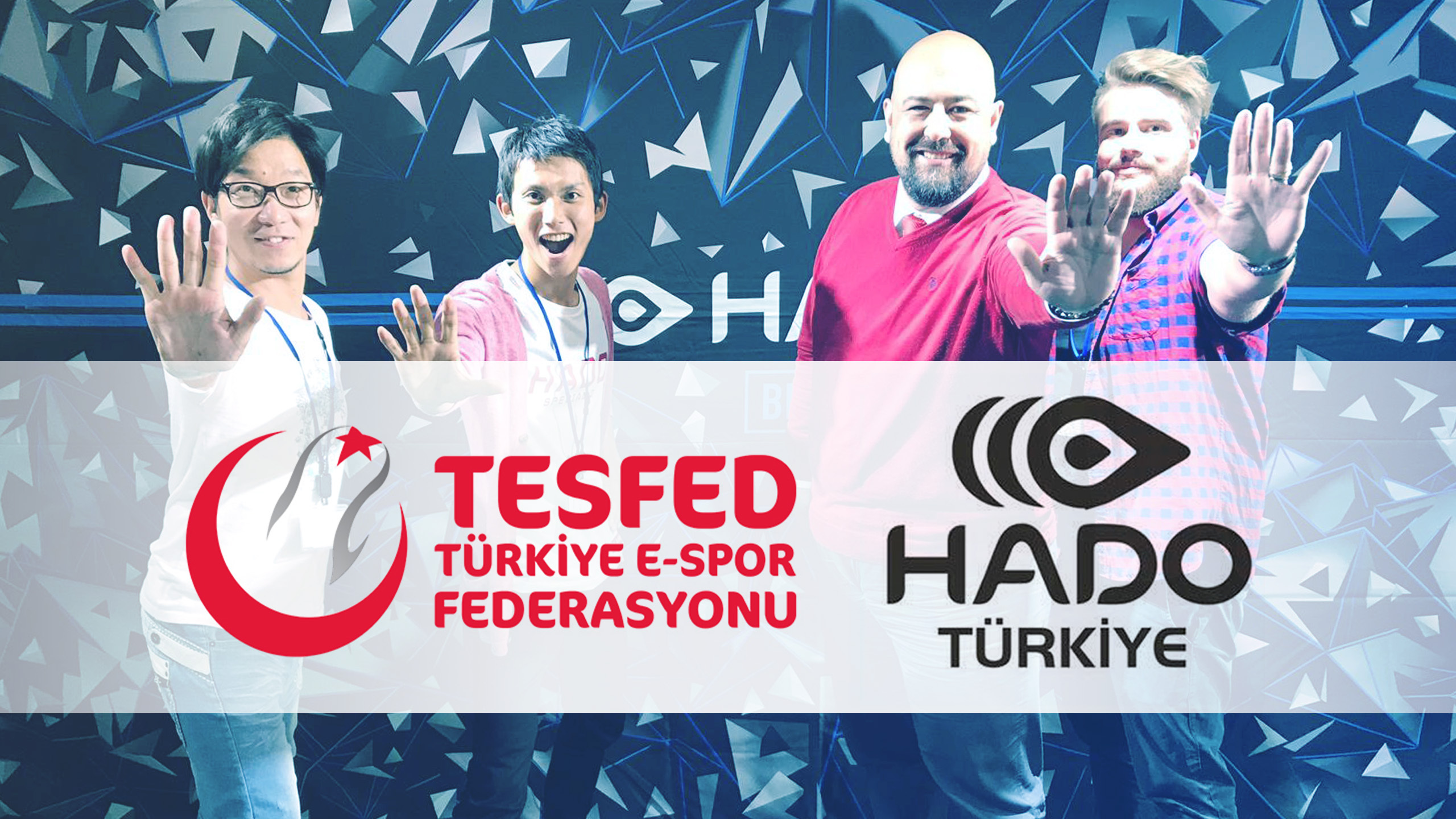 Turkey E-Sports Federation (TESFED) has concluded a partnership agreement with HADO Turkey by June 18, 2020.